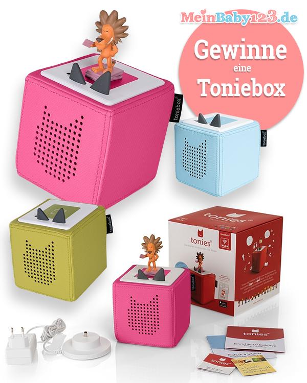 Toniebox Gewinnspiel MeinBaby123.de