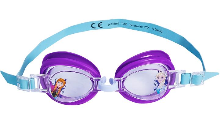 Schwimmbrille mit Eisprinzesinnenmotiv