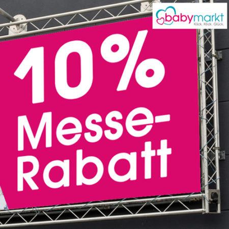 Messerabatt 10% bei babymarkt