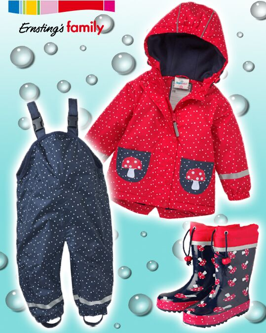 Regenbekleidung bei Ernsting's Family