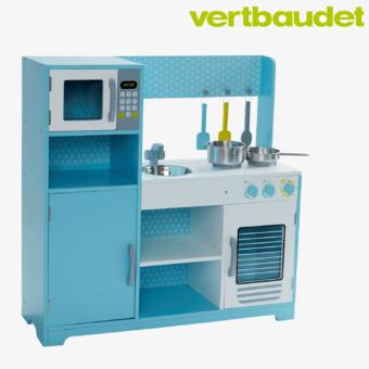 Kinderküche in blau
