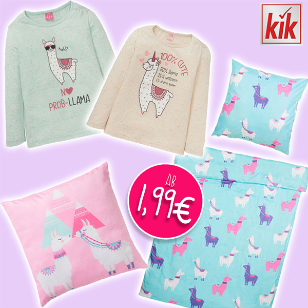 Lama Kinderkollektion KIK