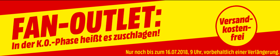 Fan Outlet im Media Markt