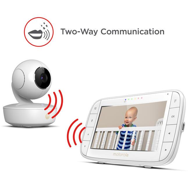 Kamera und Display vom Babyphone