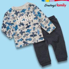 Ernsting's Family neue Kindermode mit Flugzeug-Prints