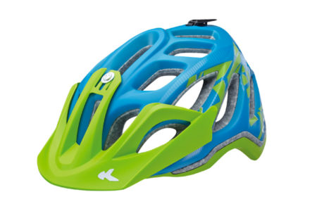KED Fahrradhelm Trailon Blue Green matt bei Babymark