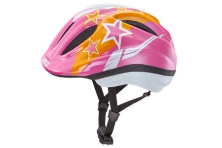 KED Kinder Fahrradhelm Meggy Pink Stars bei Babymarkt