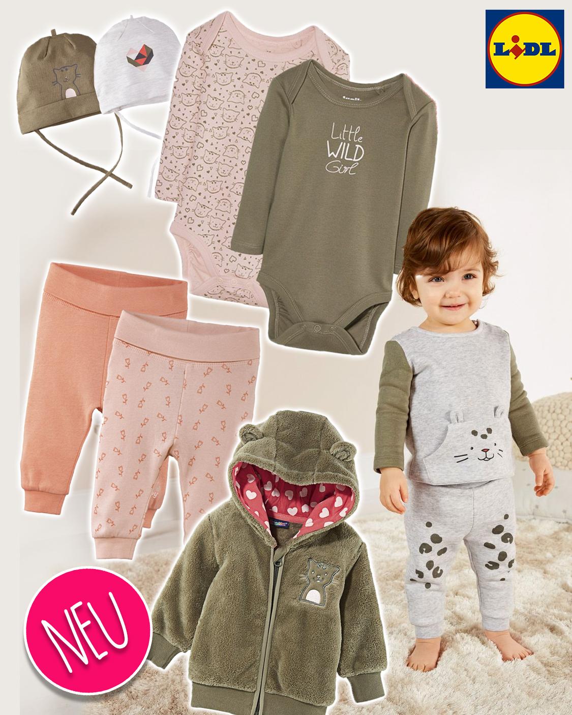 Brandneu Brandneu Verkaufsförderung LIDL: Neue Baby-Kollektion ab 2,99€ | MeinBaby123.de