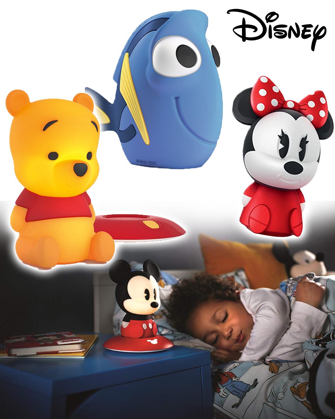 Disney Nachtlampe Winnie, Minnie, Dorie