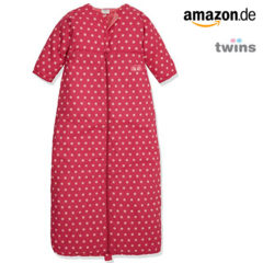 Amazon Twins Schlafsack in rot