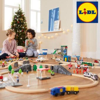 Holzeisenbahn von LIDL