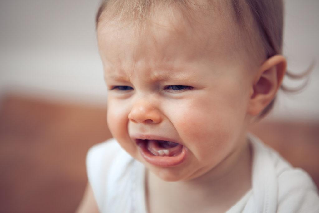 Weinendes Kleinkind