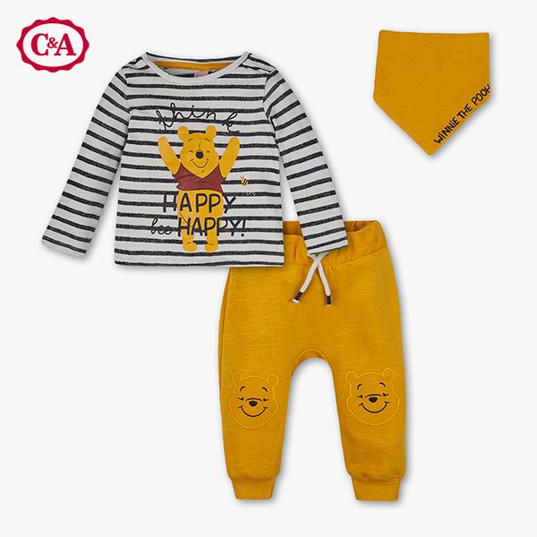 Winnie Pooh Bekleidungs-Set in gelb