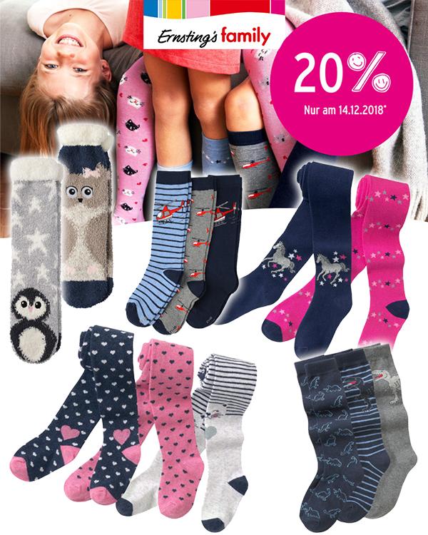 Ernsting's Family Tag Socken und Strumpfhosen