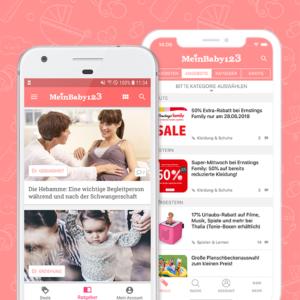 Die MeinBaby123-App – mit GEWINNSPIEL!