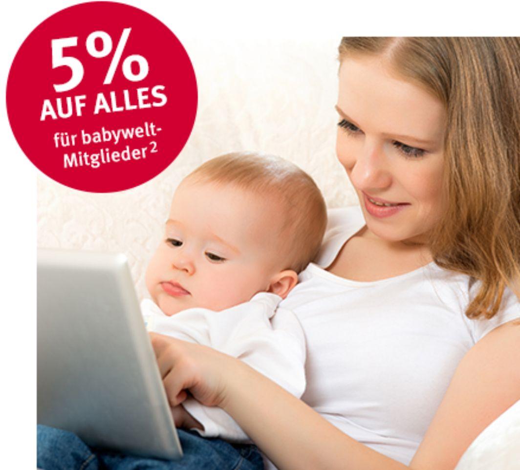 Rossmann Babywelt 5% Rabatt