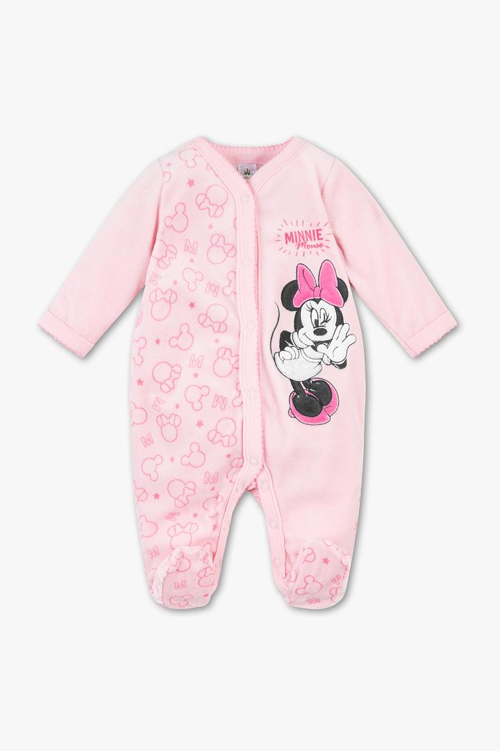 Schlafanzug in Rosa mit Minnie Maus Print