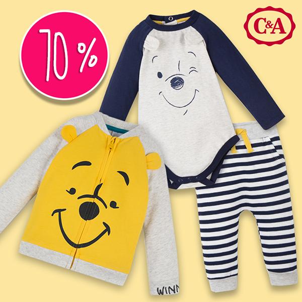 C&A Midseason Sale: Winnie Pooh Babymode