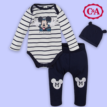 Mickey Mouse Babykollektion bei C&A