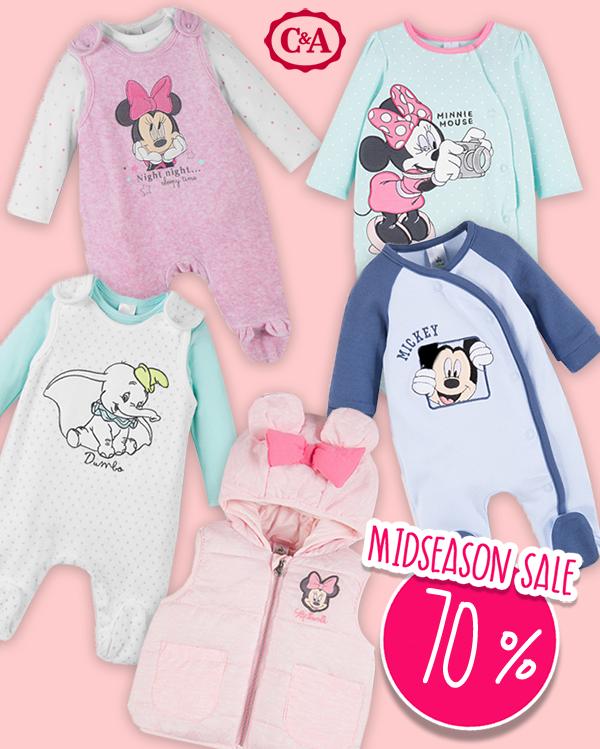 C&A Midseason Sale: Disney Babymode