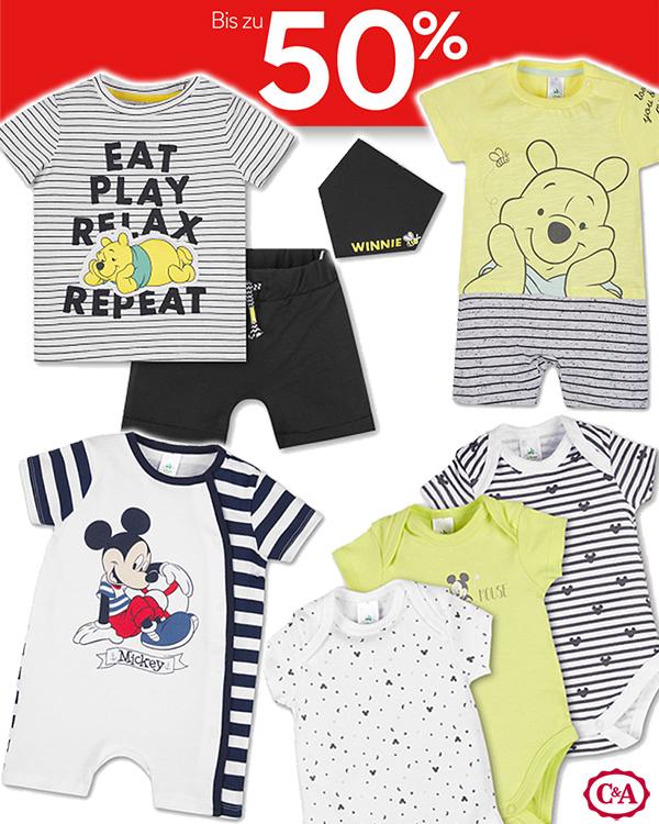 Baby Disneymode im C&A Sale mit Gratis Versand