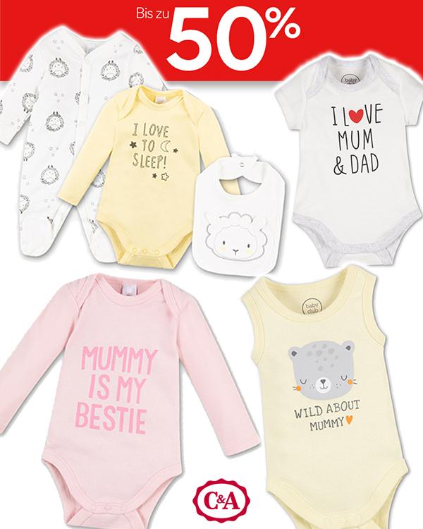 Babymode im C&A Sale mit Gratis Versand