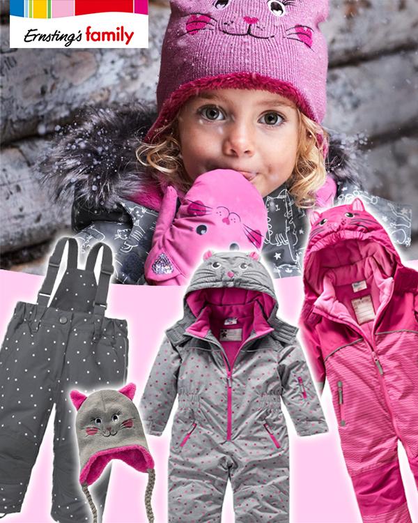eRNSTINGS Family Schneemode für Jungs und Mädchen