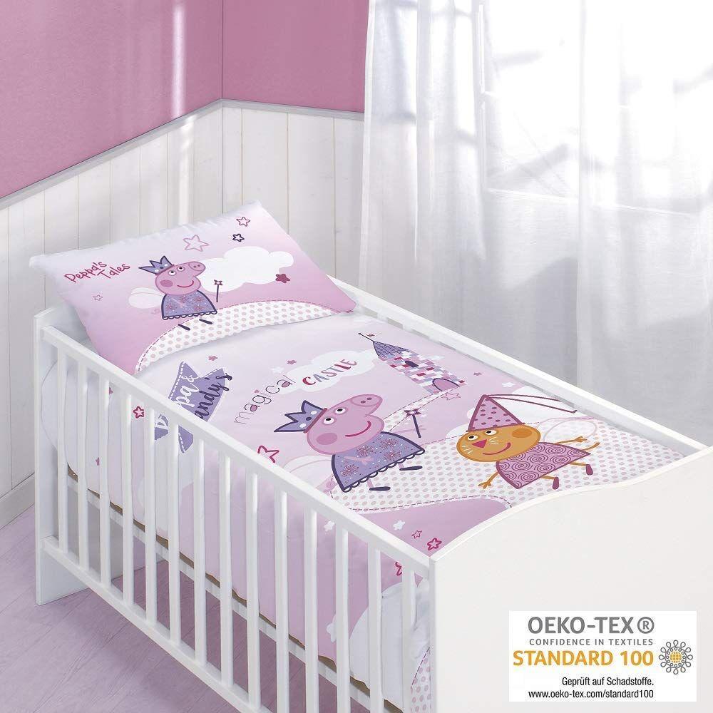 babybettw sche von peppa wutz bei amazon f r 25 95. Black Bedroom Furniture Sets. Home Design Ideas