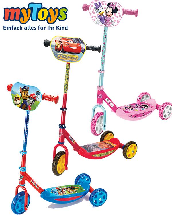 Roller in verschiedenen Farben