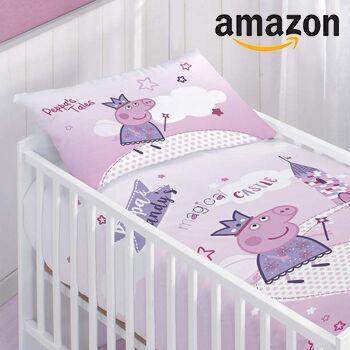 Babybettwäsche Von Peppa Wutz Bei Amazon Für 2595 Meinbaby123de