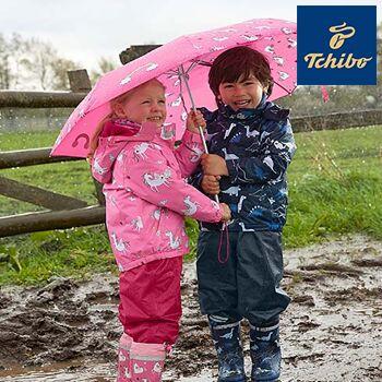 d1957e59a9334f Tierisch regnerisch: Neue Allwetterkleidung bei Tchibo ab 6,99 ...