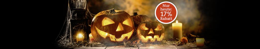 Halloween Rabatt bei Thalia