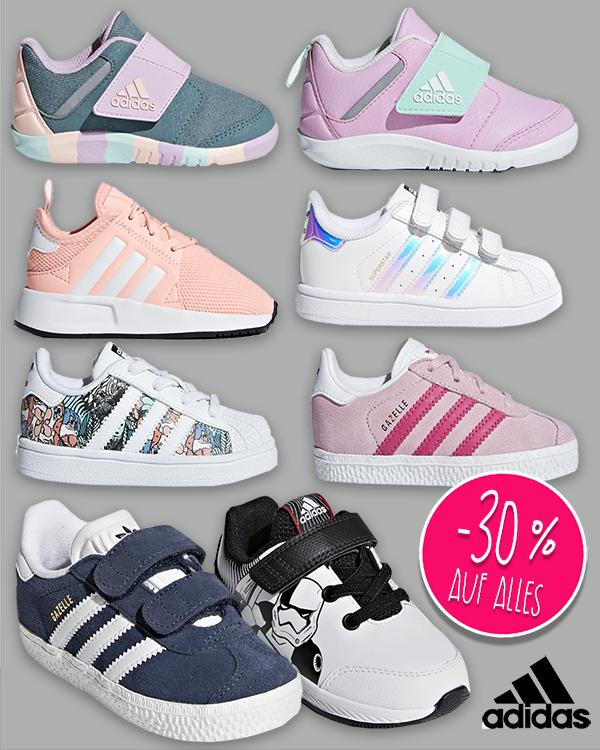 Adidas Sale mit 30% Rabatt