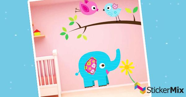 XXL Stickerset fürs Kinderzimmer