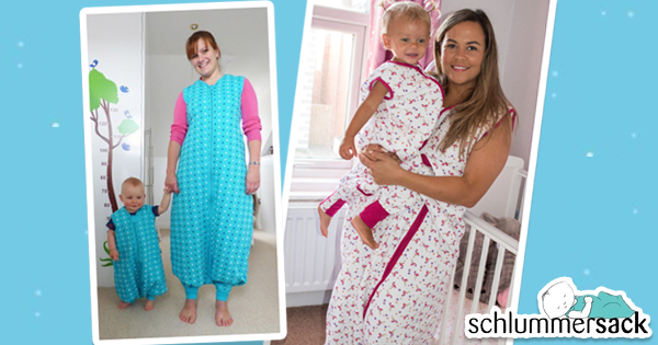 Mama-Kind-Schlummersack im Partnerlook