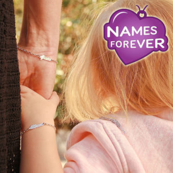 namesforever Mama und Tochter Armband