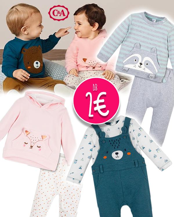 C&A Babymode mit Tierprints
