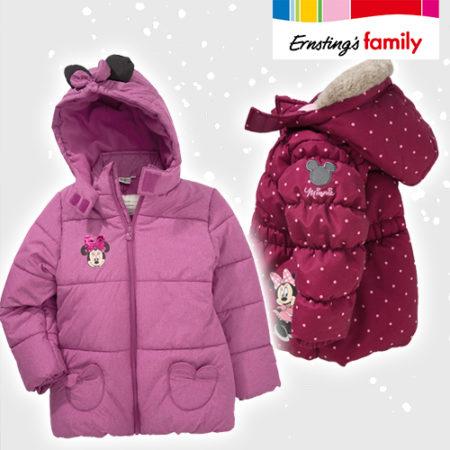 Minnie Maus Jacken für Kinder in pink und in rot