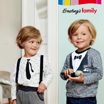 Berühmt Ernsting's Family: Festliche Kleidung für Jungen und Mädchen @FJ_93