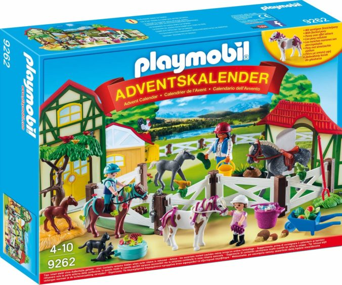 Playmobil Reiterhof Adventskalender