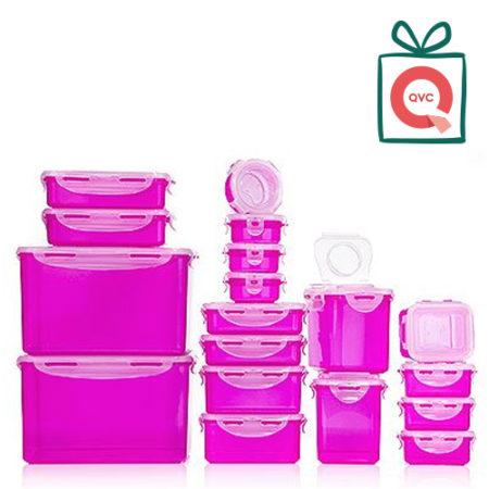 QVC Frischhaltedosen in pink