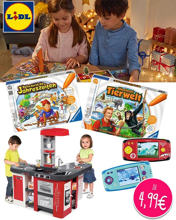 LIDL Spielzeug Tip Toi Spielküchen uvm
