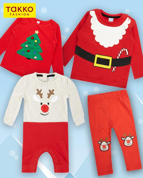 Takko Weihnachtsmode für Babys