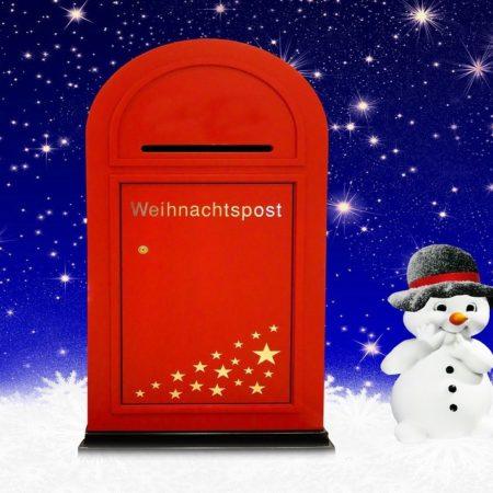 Weihnachtspost Brief an den Weihnachtsmann