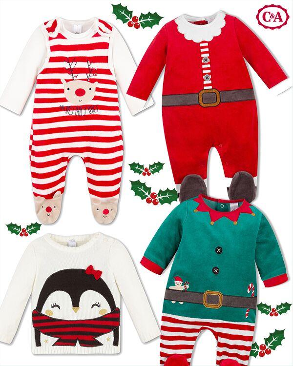 Wichtel und Weihnachtsmannschlafanzüge