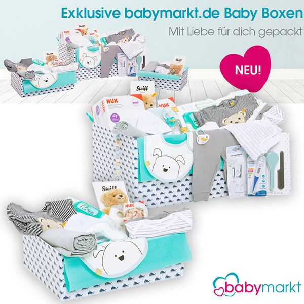 Zusammenstellung der Babyboxen