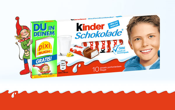 Aktionspackung Kinderschokolade