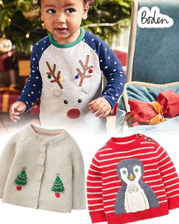 Boden Weihnachtskleidungzusammenstellung