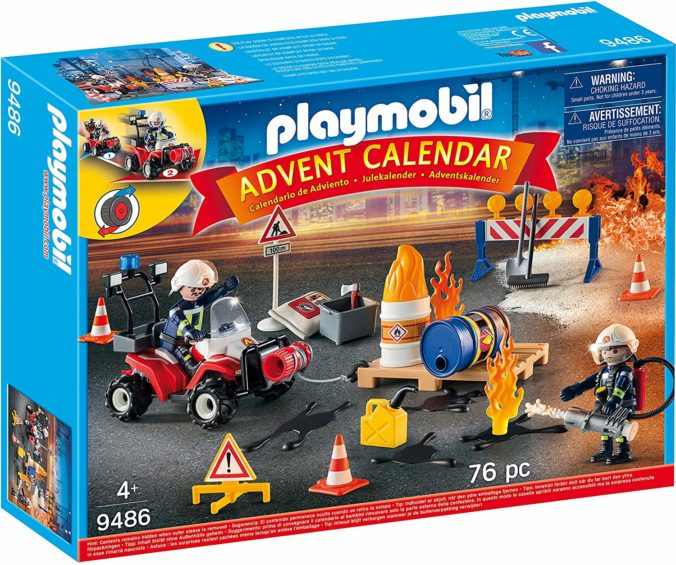 Playmobil Feuerwehr Adventskalender
