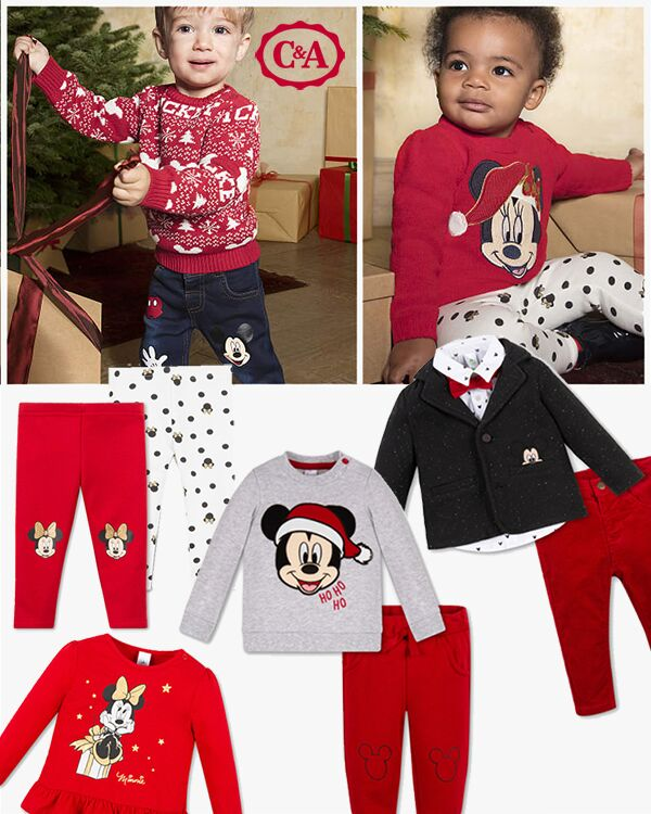Minni und Micky Kleidung Zusammenstellung